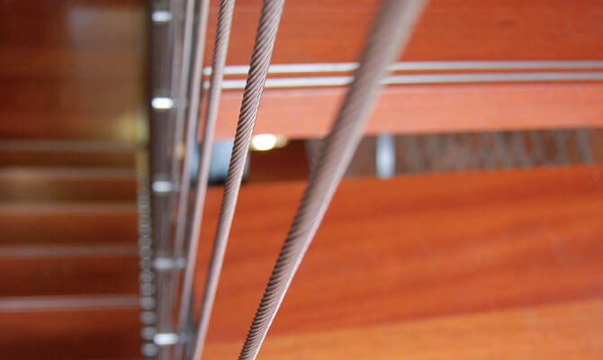 Vertical Stainless Steel Railing Cables