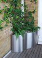 Stainless Steel Balcony Planter