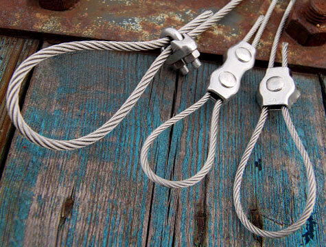 Wire Rope Grips With Loops