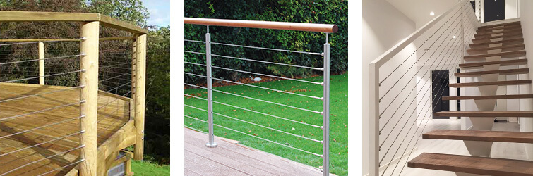 Stainless Steel Wire Balustrade Infill