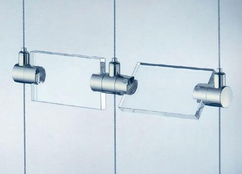 Single shelf connector x m8 posilock wire display - Tensores de acero ...