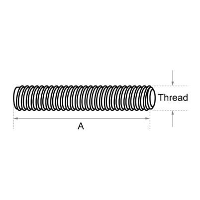 M10 Threaded Stud Dimensions - Posilock Display System