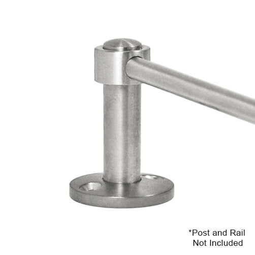 Adapter for End Post with 6mm Bar Railing
