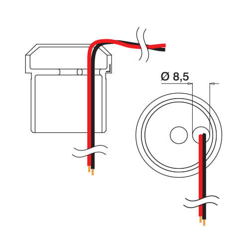 Tube Mounting Adapter - Wiring
