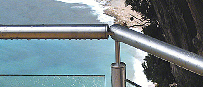 Adjustable Balustrade Connector Example 1