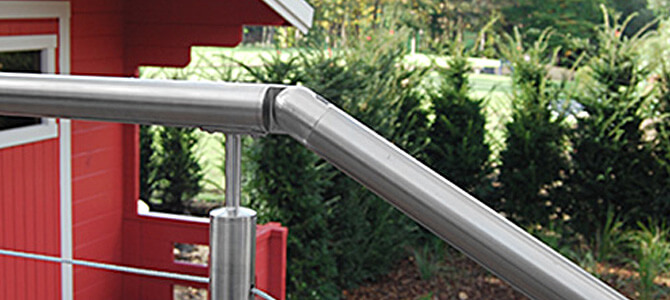 Adjustable Balustrade Connector Example 2