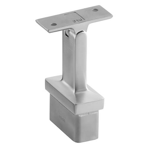 Adjustable Flat Handrail Saddle - Square Line 60x30 Balustrade