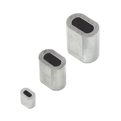 Aluminium Ferrule for Wire Rope