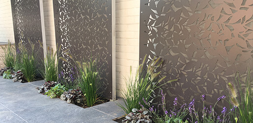 Aluminium Garden Screens