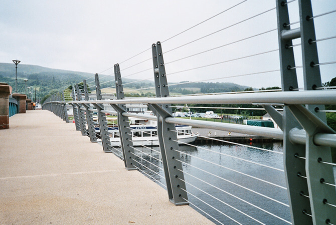Stainless Steel Wire - Balloch Bridge