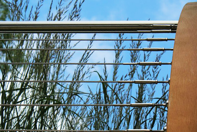 Balustrade Wire With Pre-fixed Tensioner