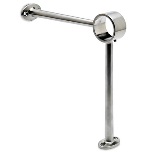 Bar Foot Rail Bracket - 90 Degree Combination Mount