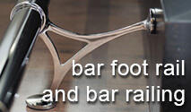 Bar Foot Railing and Bar Fittings