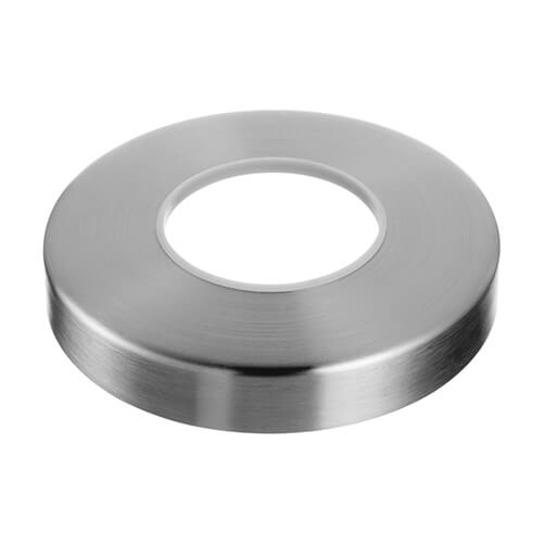 Cover Cap for Tubular Floor Glass Clamp - Stainless Steel