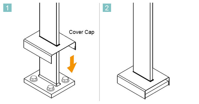 Base Cover Cap - Installation Advice