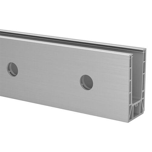 Fascia Mount Base Shoe for Easy Glass Prime Balustrade