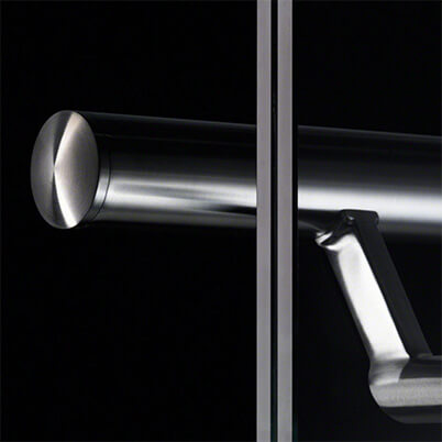 Bevelled End Cap For Modular Stainless Steel Balustrade - Example