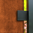 Blank 3 Panel Balustrade Kit - Corten Steel