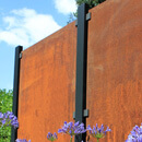 Blank Garden Screen Kit - Corten Steel