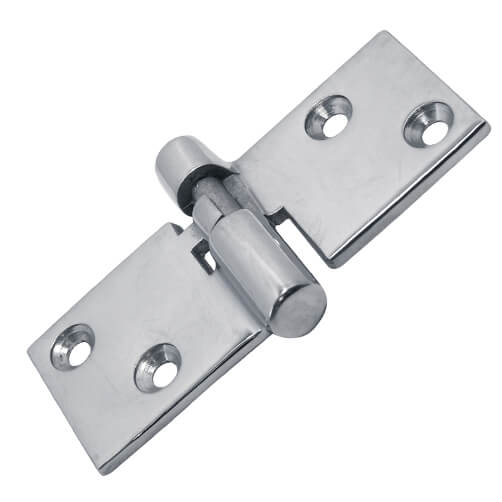 Box Hinge - Stainless Steel - 4 Hole