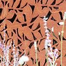 Branches 3 Panel Balustrade Kit - Corten Steel