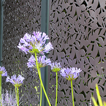 Branches Balustrade Screen - Aluminium - Laser-cut Pattern