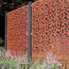 Branches Garden Screen Kit - Corten Steel