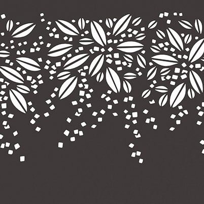 Burst Garden Screen - Aluminium - Laser-cut Pattern