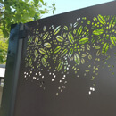 Burst Garden Screen Kit - Aluminium