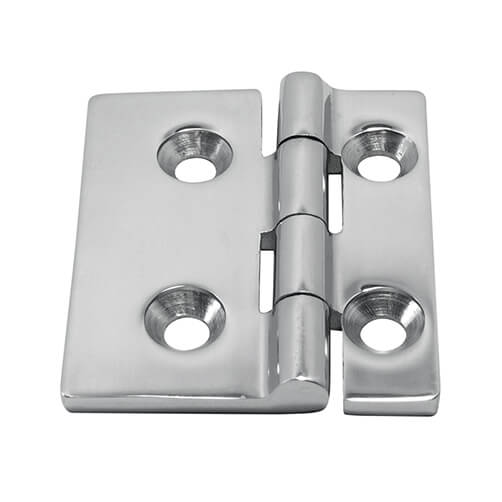 Short Sided Butt Hinge - Stainless Steel