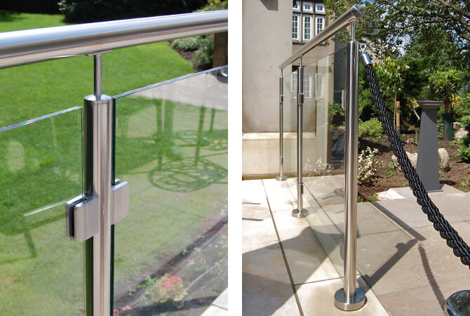 Stainless Steel Handrail - Mount Pleasant Hotel