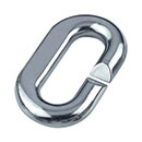 6mm C-Ring Links - 316 (Marine) Grade Stainless Steel - 25 Pack