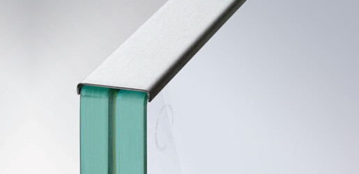 Cap Rails for Glass Balustrade