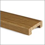 Cap Rail - Oak with Lacquered Finish