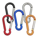 Carabiner Snap Hook - Coloured