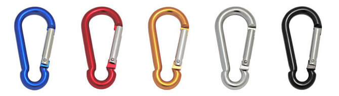 Carabiner Snap Hooks - Coloured