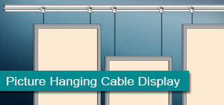 Picture Hanging Cable Display System