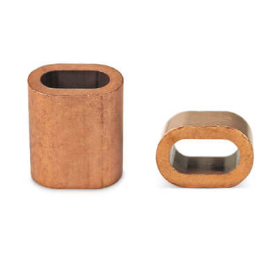 Wire Rope Ferrule - Copper