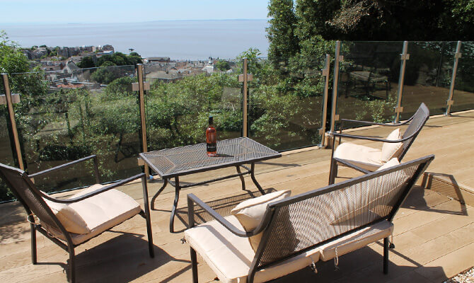Glass and Stainless Steel Balustrade Installation Clevedon, North Somerset