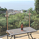 Glass Balustrade - Raised Decking - Clevedon
