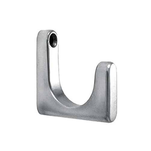 Coat Hook - Square J-Shape