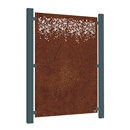 Burst Garden Screen - Corten Steel