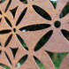 Motif Garden Screen - Laser-cut Pattern