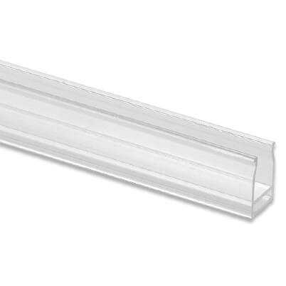 Cover Profile for LED Lighting on Glass Channel Handrail