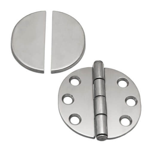 Round Hinge with Cover Cap