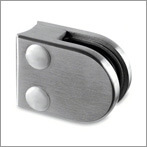 D Shaped Stainless Steel Glass Clamps