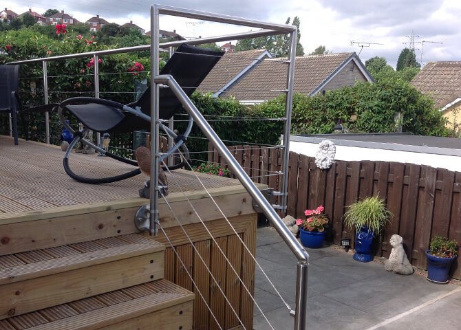 DIY Decking Balustrade Installation