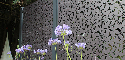 Aluminium Decorative Garden Screen Starter Kits