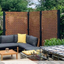 Corten Steel Decorative Garden Screen Kits