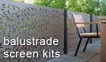 Decorative Balustrade Screen Starter Kits